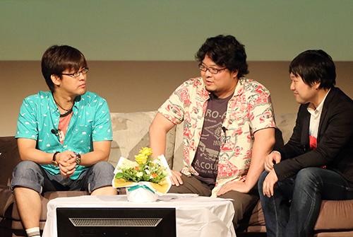 「若手ゲームプロデューサーズ! ゲームとITの未来」と題して意見を交わしたKCGグループ創立50周年記念「私とIT」トークライブ