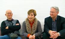 ウィーンのトリオ ダニエル・ゲーデ氏(ヴァイオリン),陽子・フォゥグ氏(ピアノ),ヨァゲン・フォゥグ氏(チェロ)
